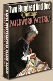 Vintage patchwork quilt patterns
